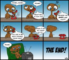 E.T. Phones Home by Red-Flare