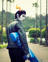 Homestuck: Cronus Ampora Cosplay 1 by SNTP