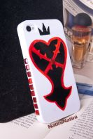 Heartless iPhone case by Natini