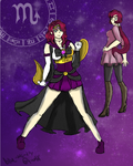 Sailor Scorpio by Blue-and-Dog