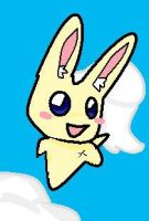 Bunny in the Sky by Chibi-Kitty-Chan