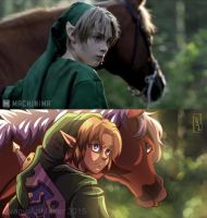 Screenshot Redraw MAJORAS MASK LIVE ACTION TRAILER by YvanieArtMaker