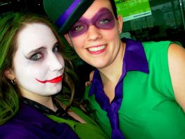 Riddle Me This Joker... by aakahasha
