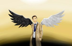 Castiel, Angel of the Lord by AnayaDeath