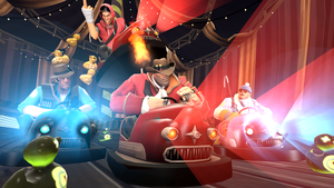 [SFM] BumperCars by OkamiArtist