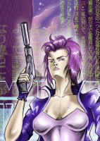 Major Kusanagi by HeavyMouse
