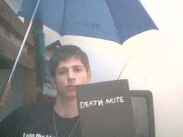 My Home made Death Note by masteroftheweres
