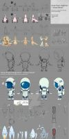 : Lonely Planet : Character Design by noei1984