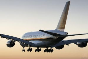 Singapore Airlines A380 by Inuksuk