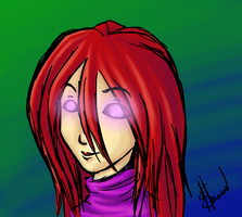 Jennicas eyes by PuzzlingPredicament