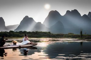 Wedding on Li River | Guilin by alierturk