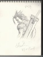 zack final fantasy crisis core by kenshirevived92