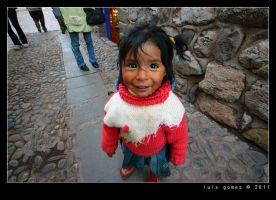Cuzco girl by gomes