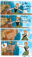 KH3/Frozen - A very Awkward Meeting by createandshow0407