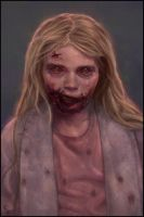 Zombie Painting 6 Day #321 by AngelGanev