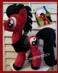 My little Pony Plush Commission SWIFT BLAZE by CINNAMON-STITCH