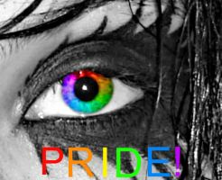 Andys eye for gay pride V2. by marshmallow-away