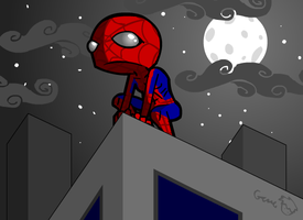 Spiderman Fanart by hyperboy