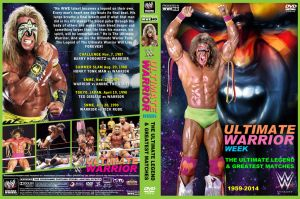 WWE Warrior Week DVD Cover by Chirantha
