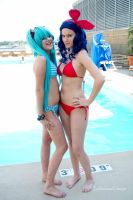 Swim Suit Photo Shoot (Mechacon VIII 2012) by SinYukimura