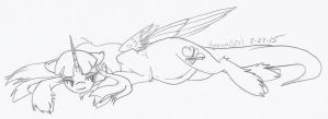 [Point Commission] Rest by KyuremGirl