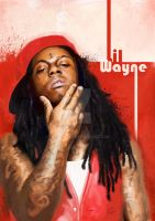 portrait- Lil Wayne by cheatingly