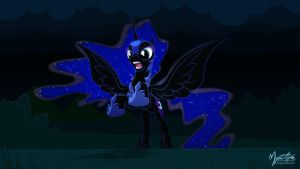 Nightmare Moon 02 16.9 by mysticalpha