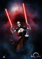 Assajj Ventress by O-mac