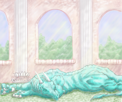 nap time by DragonScribble