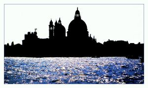 Silhouette of Venice by Mittelfranke