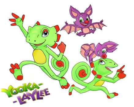 Yooka-Laylee by XJoiFoxX