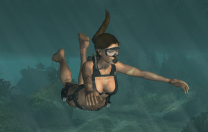 Underwater Raiding by tombraider4ever