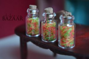 More Jars of Gummy Worms by abohemianbazaar