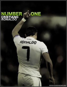 Number One CR7 by reddevil8