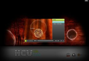 HCV life cycle - player by alixpoulot