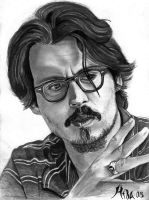 Johnny Depp by qshera