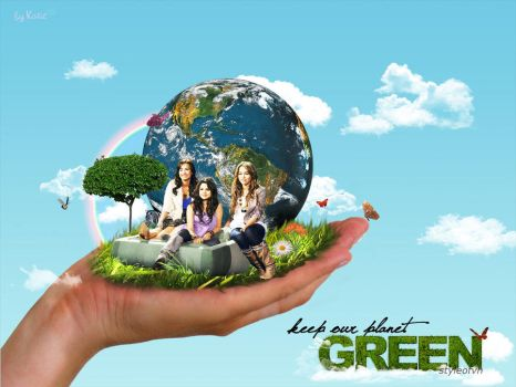keep our planet green by styleofvh