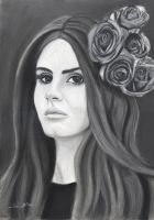 Lana Del Rey by A-Man-With-No-Art