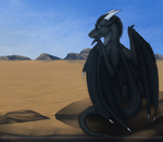 Across The Desert by bladebandit