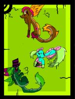 Creature Adoptables FREE closed by leafeoneve3