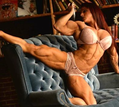 Tess Stumpf Muscled by Turbo99