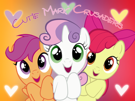 Cutie Mark Crusaders Wallpaper by Ichigooneechan66