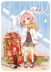 Strawberry Bunny by Myul