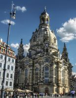 Dresden - Frauenkirche by pingallery