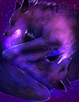 The Breath of Galaxies by falvie