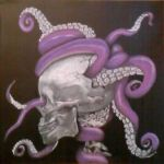 Octopus on the Brain by Miss-Misery13