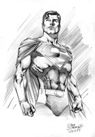 SUPERMAN by eddybarrows