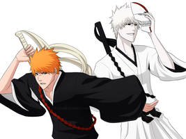 Ichigo and Hichigo by Mizashi