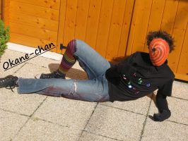 Tobi civilian cosplay 3 by Okane-chan