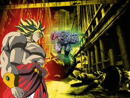 Broly vs Doomsday by JayC79